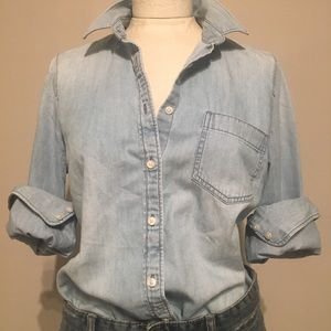 J.Crew denim shirt